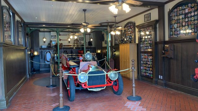 Fire Station reopens with Sorcerer of the Magic Kingdom elements removed 1