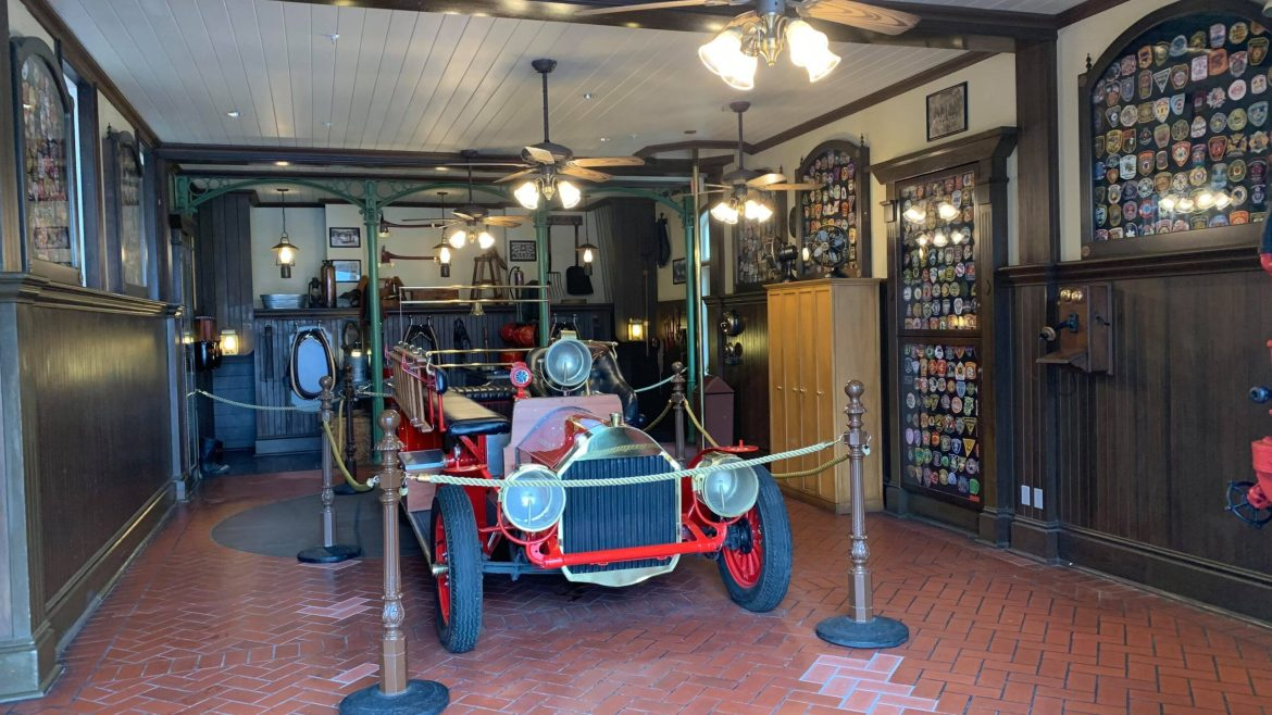 Fire Station reopens with Sorcerer of the Magic Kingdom elements removed