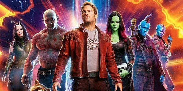 The cast of 'Guardians of the Galaxy Vol. 2'