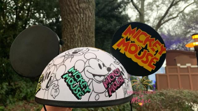 Sketch Mickey Mouse Ears