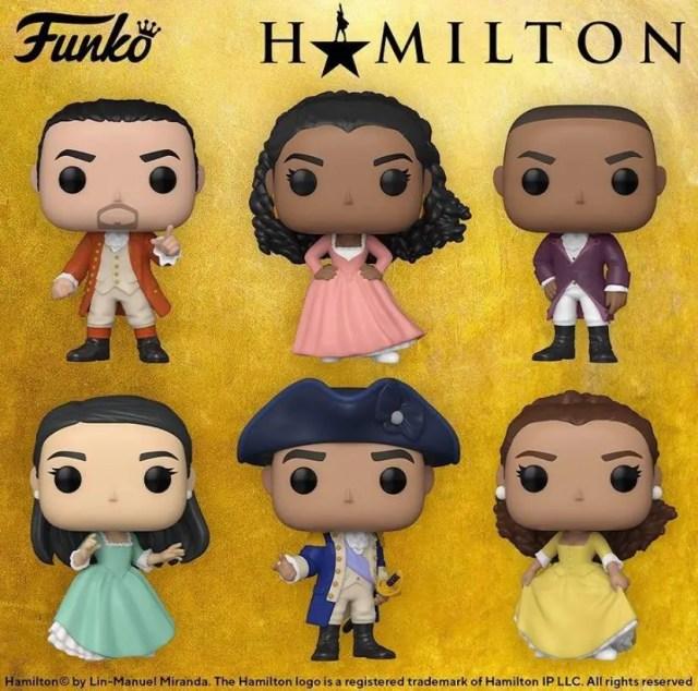 Hamilton Funko POP Collection
