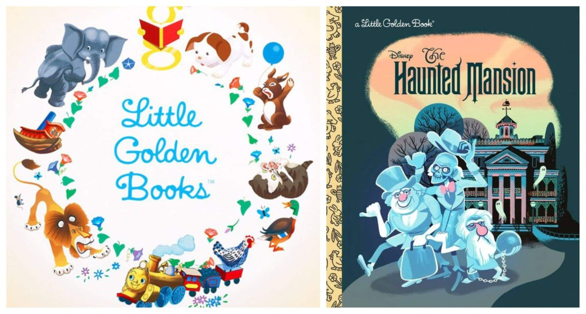 Disney's The Haunted Mansion Little Golden Book is Coming This Summer