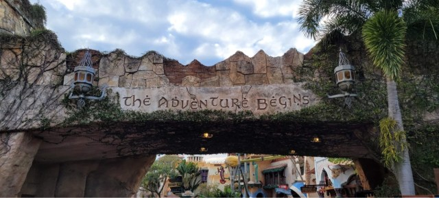 Islands of Adventure Entrance