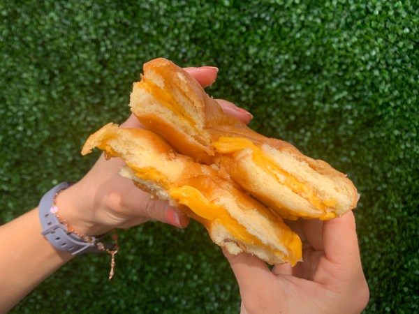 Donut Grilled Cheese Sandwich