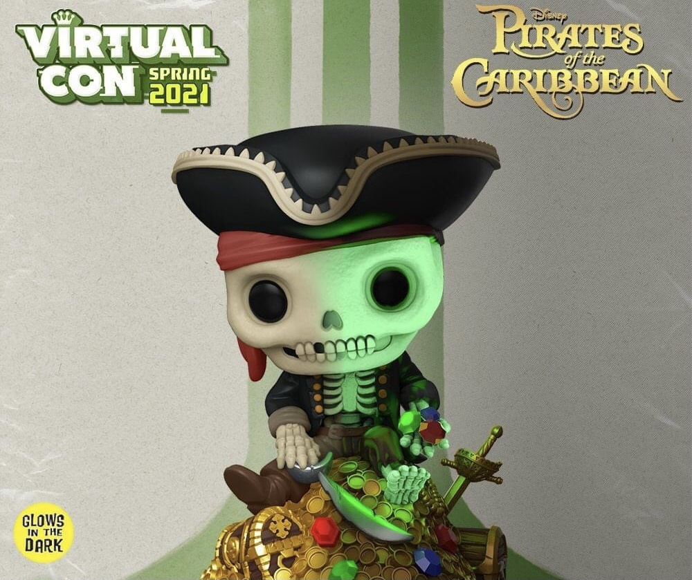 Disney Parks: Pirates of The Caribbean Skeleton Funko Coming soon