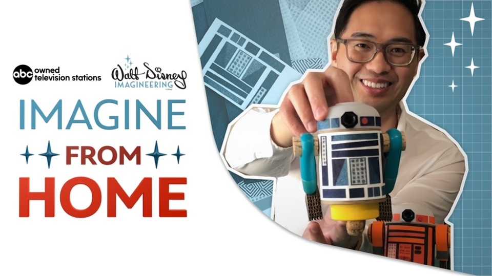 New Interactive Series 'Imagine from Home' from Walt Disney Imagineering