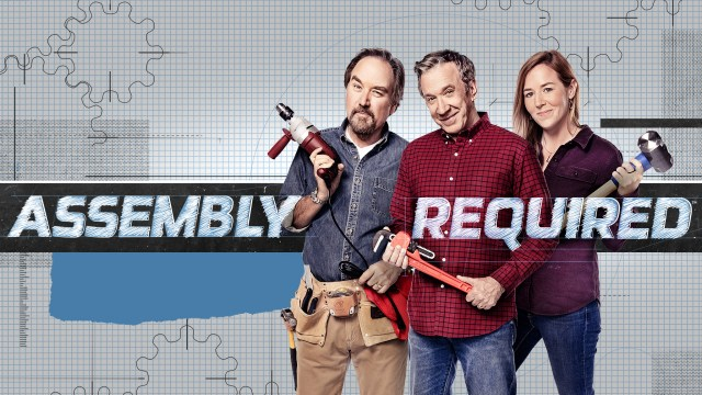 Assembly Required Hosts Richard Karn, Tim Allen and April Wilkerson