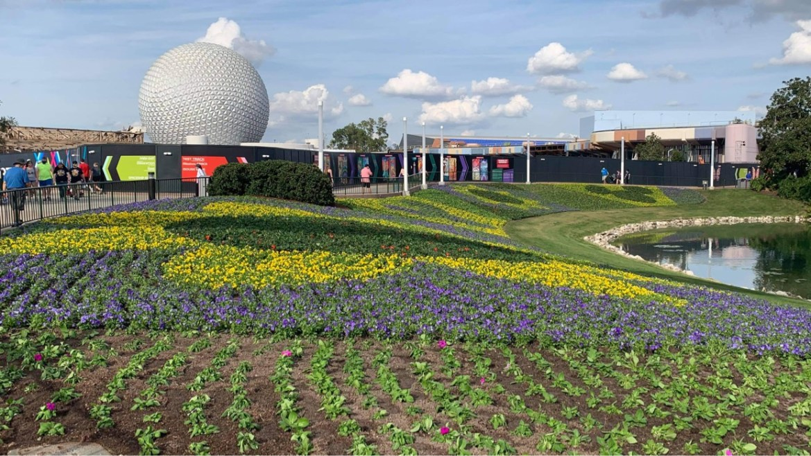 Epcot is gearing up for the Flower & Garden Festival