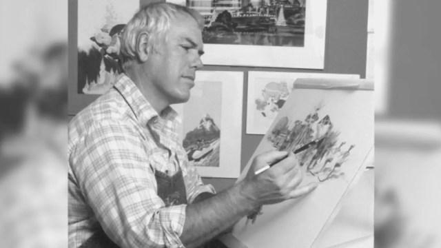 Disneyland Artist Charles Boyer
