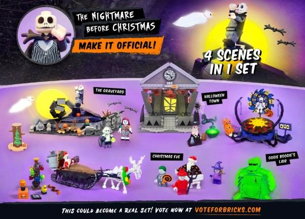 Nightmare Before Christmas LEGO set