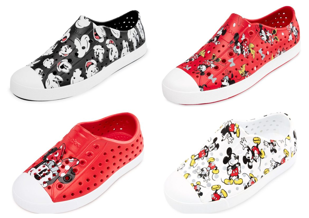 Disney Teams Up with Native Shoes for an All-New Collection
