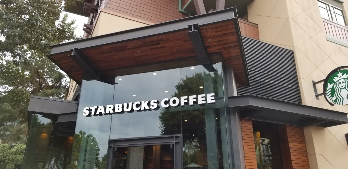 Starbucks in Downtown Disney reopening next week!