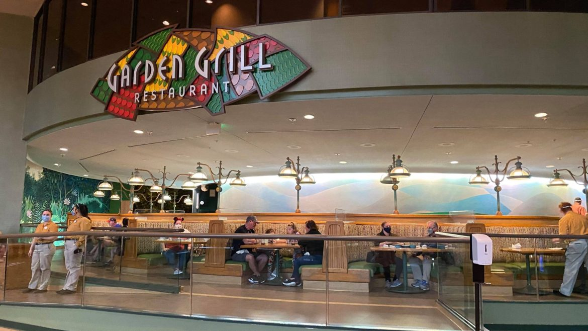 Epcot's Garden Grill is rotating again