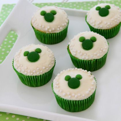 Mickey Saint Patrick's Day Cupcakes You Can Make At Home!