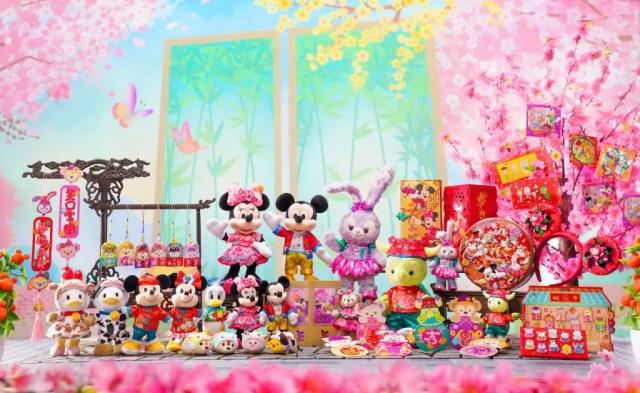 year of the ox disney merchandise 2021 spring festival shanghai disney resort