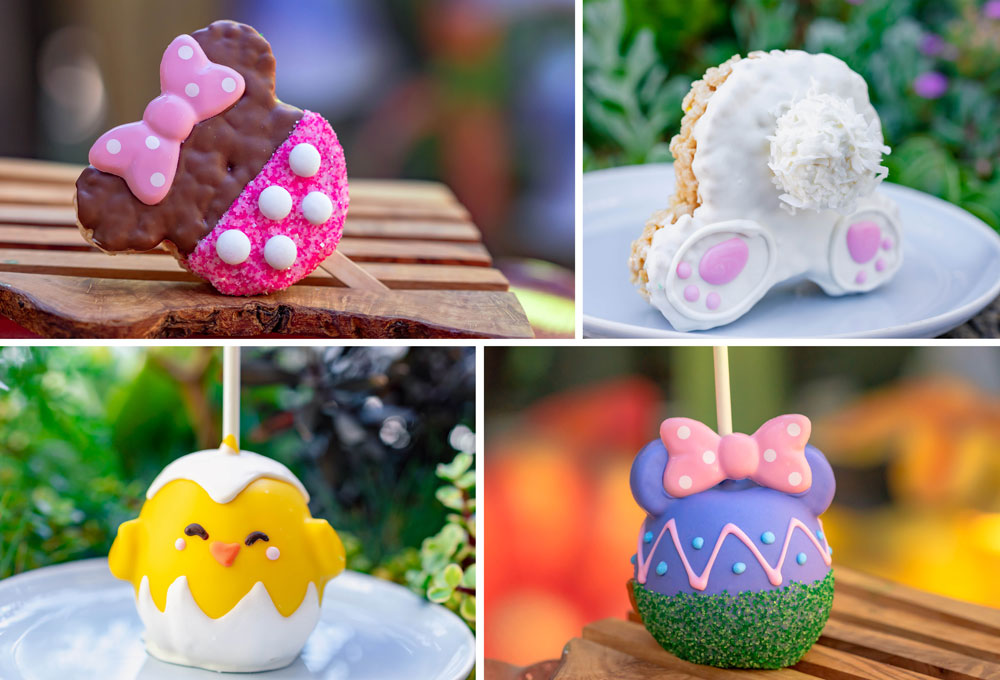 Don't miss these Easter Snacks & Treats coming to the Disneyland Resorts