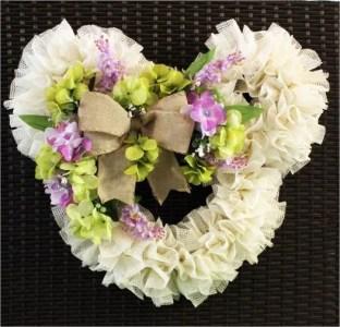 Mickey floral wreath