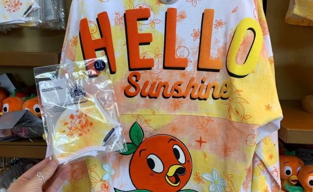 New Orange Bird Spirit Jersey Facemasks spotted in Epcot 3