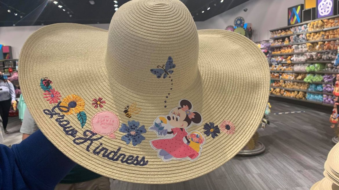 Grow Kindness With The New Minnie Sun Hat From The Flower And Garden Festival