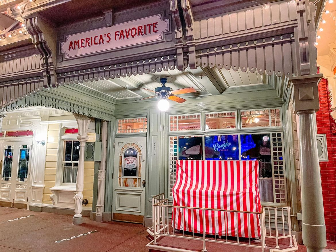 Is Casey's Corner in the Magic Kingdom Reopening soon?
