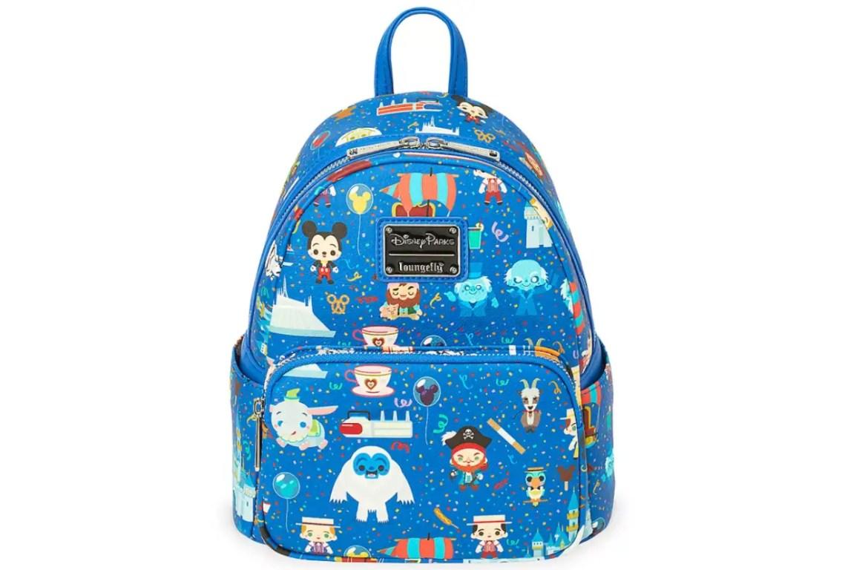New Disney Parks Chibi Mini Loungefly Backpack
