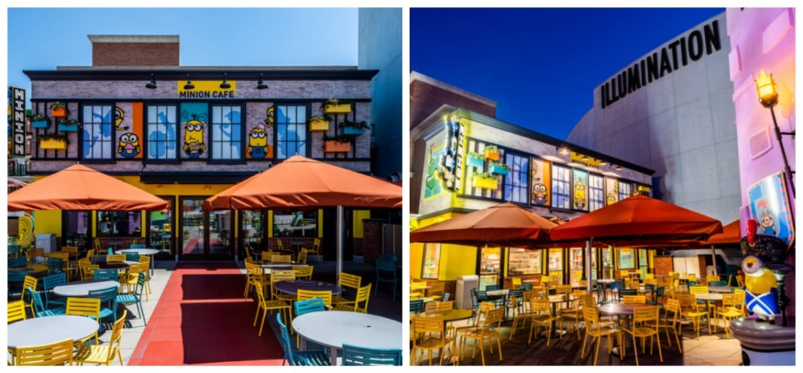 First Look at the new Minion Cafe at Universal Studios Hollywood