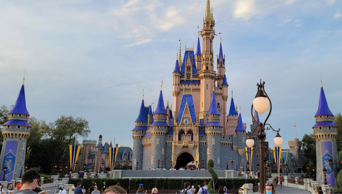 Stage Refurbishment is underway at Cinderella Castle
