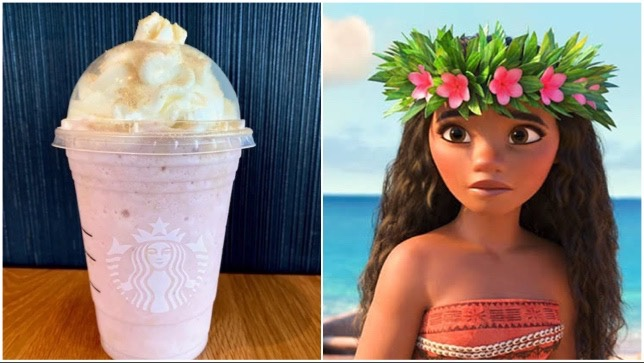 This Moana Frappuccino Is Calling You!