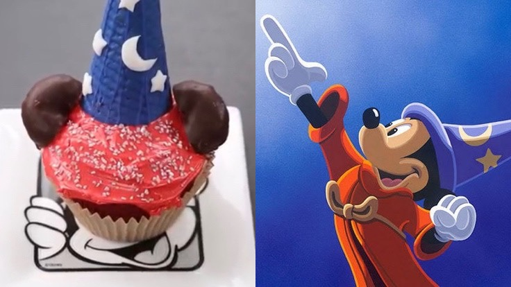Bake Some Magic With These Sorcerer Mickey Cupcakes!