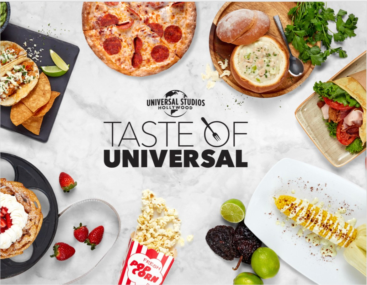 "Universal Studios Hollywood Serves Up ""Taste of Universal"""