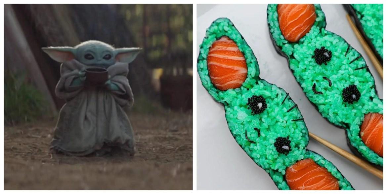 This Orlando Chef makes Baby Yoda Sushi