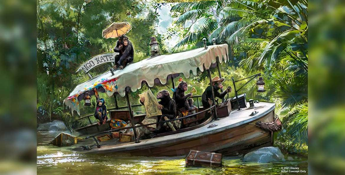 Permit filed for Jungle Cruise Updates, with possible end date revealed?