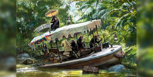 Permit filed for Jungle Cruise Updates, with possible end date revealed? 2