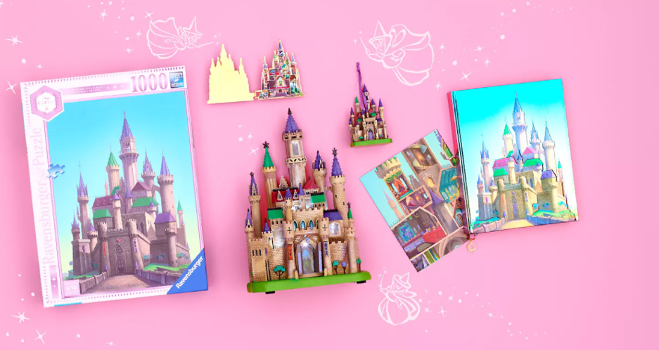 Sleeping Beauty Castle Collection Now On shopDisney