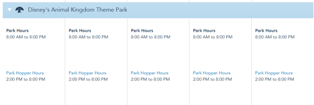 Theme Park Hours for Disney World have been extended in April! 5