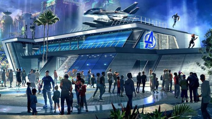 Avengers Campus not expected to open till later this year
