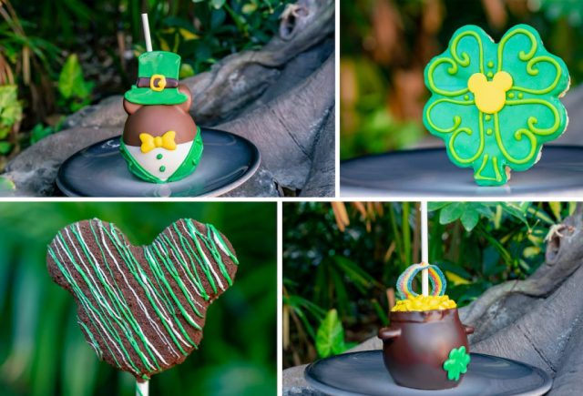 Don't miss these St Patrick's Day Limited Offerings at Disneyland 1