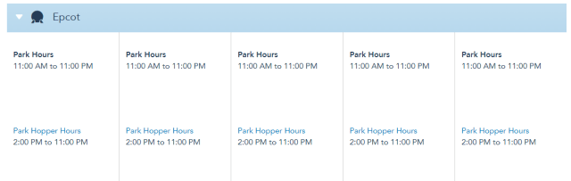 Theme Park Hours for Disney World have been extended in April! 3
