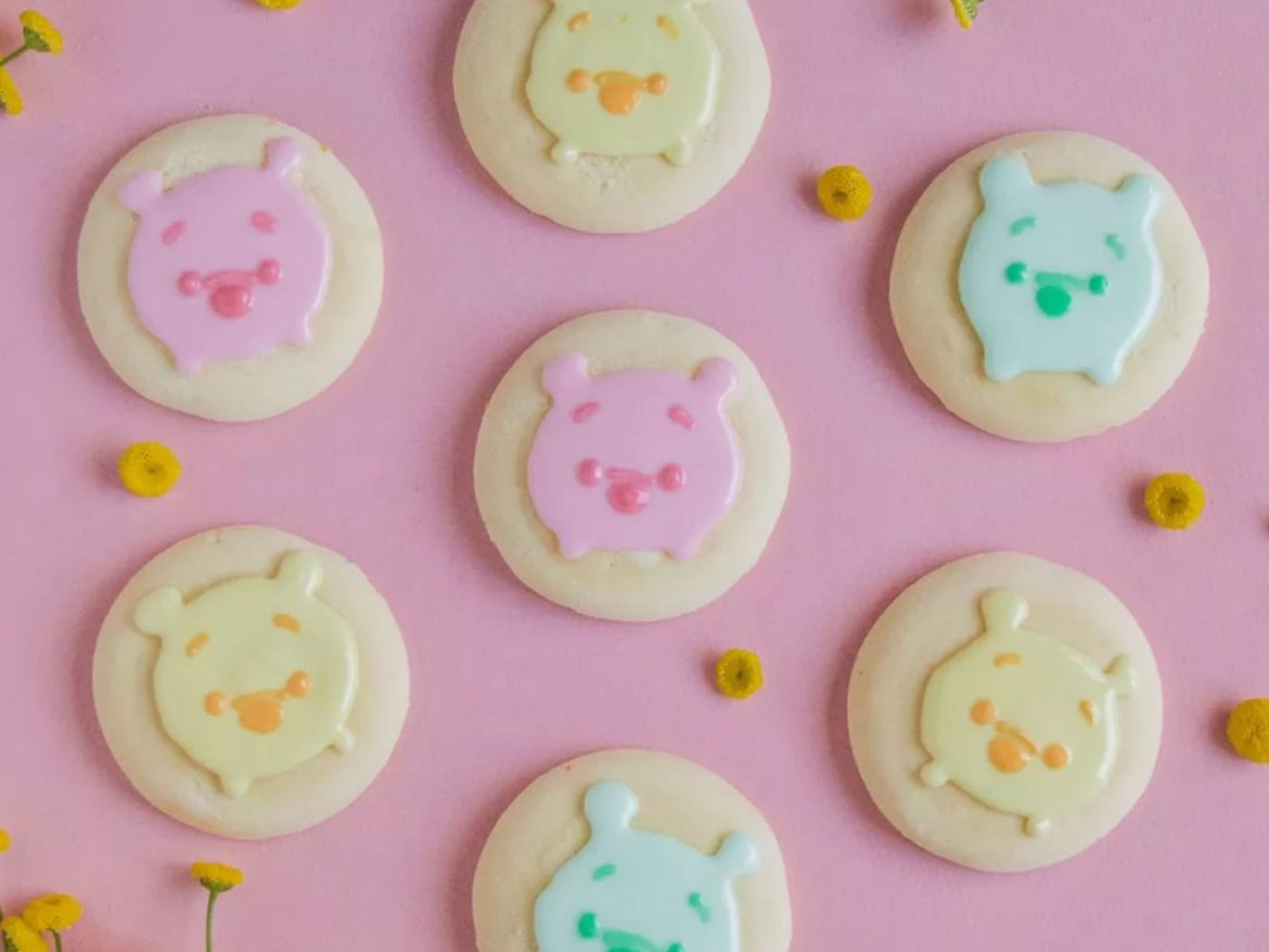 Welcome The Springtime With These Cute Winnie The Pooh Cookies!