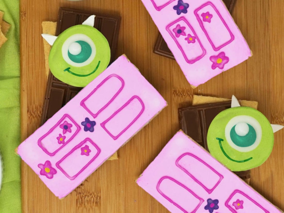 These Monsters Inc S'mores Will Have You Screaming For More!