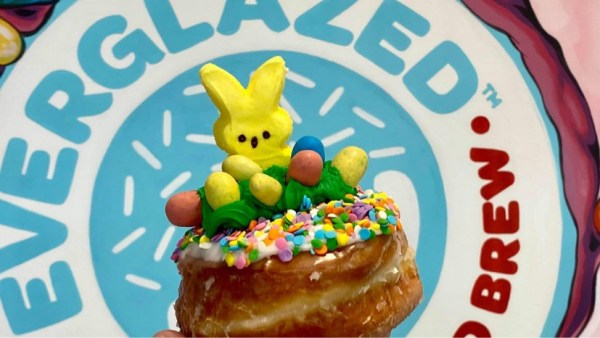 rolling with my peeps donut