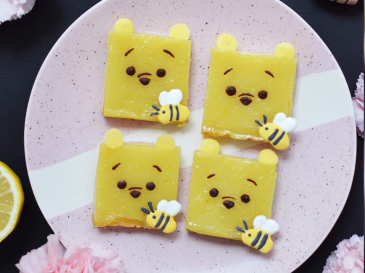 These Winnie The Pooh Lemon Bars Are The Perfect Treats For Spring!
