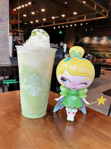 Tinkerbell Frappuccino