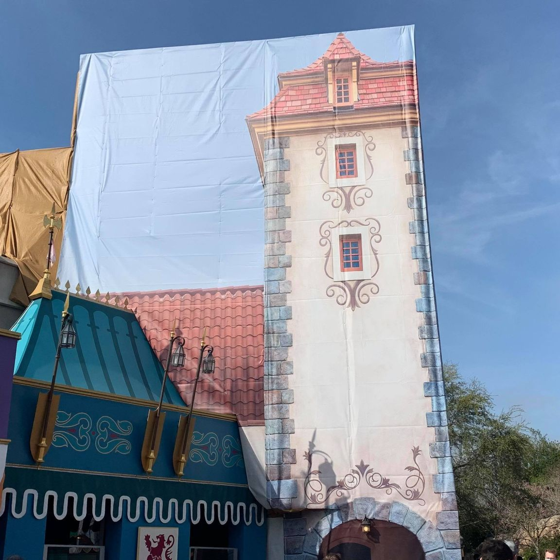Scrim removed from Peter Pan's Flight in the Magic Kingdom 1