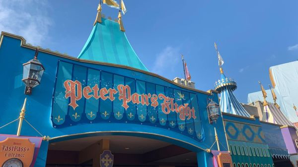 Peter Pan's Flight Temporary Banner