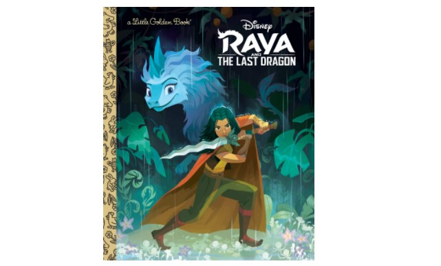 Raya and the Last Dragon Little Golden Book Now Available on Amazon