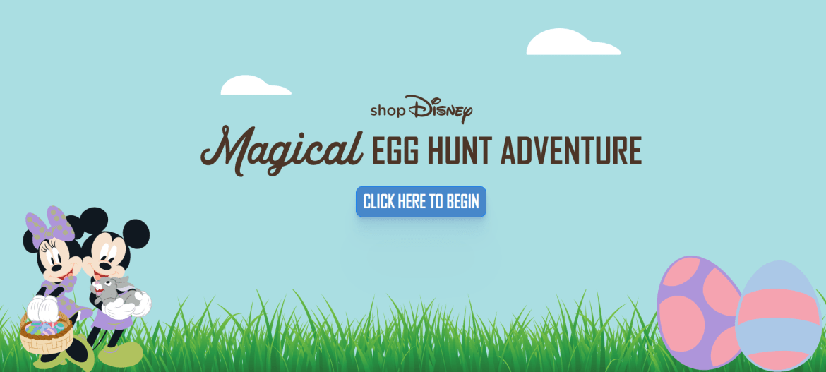 Magical Egg Hunt returns to Shop Disney
