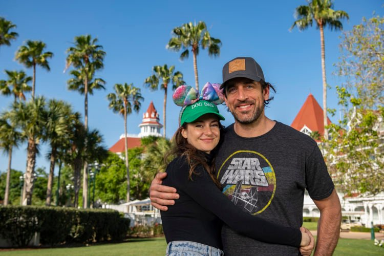 Shailene Woodley and Aaron Rodgers visit Walt Disney World to celebrate engagement
