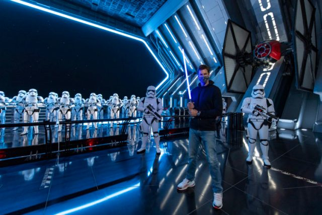 Tom Brady Finally Visits Walt Disney World over Easter Weekend 1