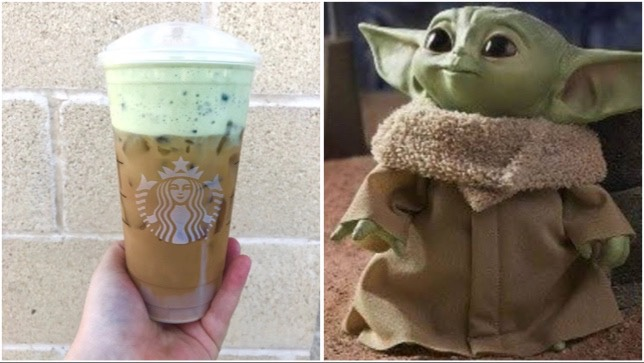 You Can Order A Baby Yoda Cold Brew At Starbucks!